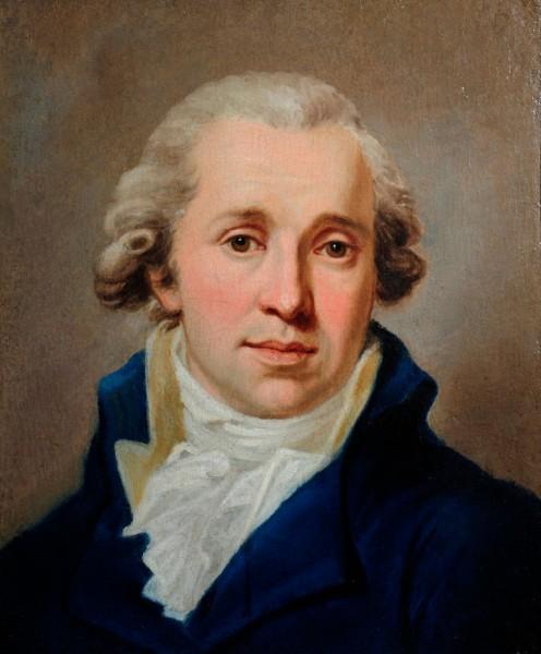 Portrait eines jungen Edelmannes, Frankreich, um 1790, Kreis des Jacques Louis David