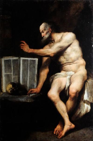 Hl. Hieronymus, um 1700, Italien, Neapel
