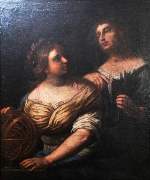 Allegorie der Wissenschaft und Astronomie, frühes 17. Jh., Italien, Bologna