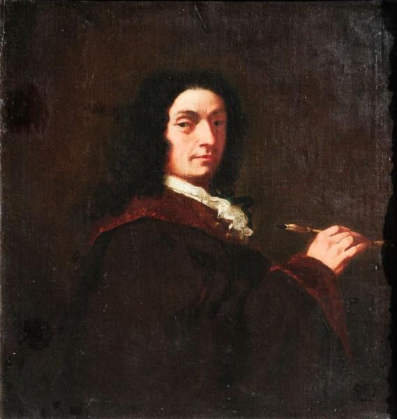Selbstportrait eines Künstlers, Francesco Piazetta zugeschr. , 18. Jh., Italien