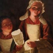 Zwei Kinder mit Kerze, 18. Jh., Deutschland / Frankreich ?