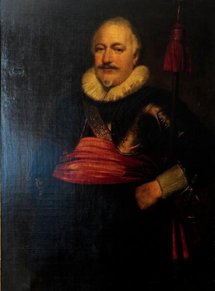 Mitglied einer Gilde, Jan Anthonishzoon von Ravensteyn zugeschr., datiert 1642, Niederlande