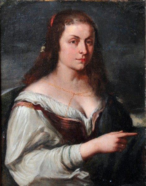 Junge Frau, Francesco Mola zugeschr., 17. Jh., Italien