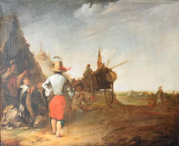 Nach der Schlacht, Matthias Scheits (1625-1700), 17. Jh., Deutschland HH