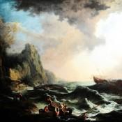 1072 Seebild, Johann Christian Brand