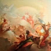 Triumph des Apoll, 2. Hälfte 18. Jh., süddeutsch / norditalienisch