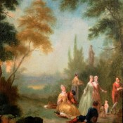 Pesne, Antoine, (1683-1757); preußischer Hofmaler , zugeschrieben, 1. Hälfte 18. Jh., Italien