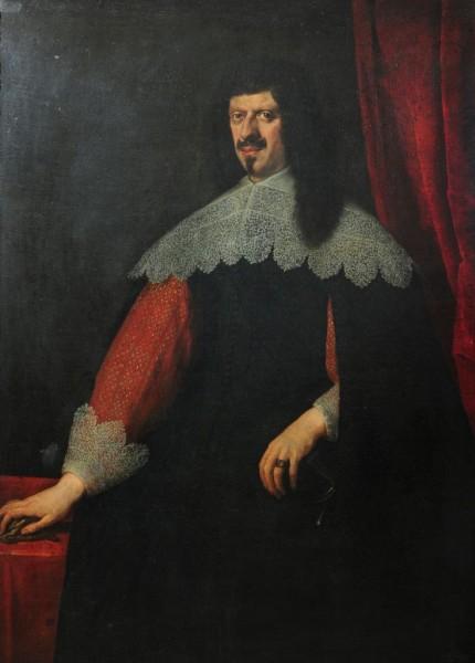 Portrait eines Mannes, Justus Sustermann zugeschrieben, 17. Jahrhundert, Italien, wohl Florenz