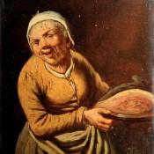 Wirt und Wirtin, 18. Jahrhundert, flämisch