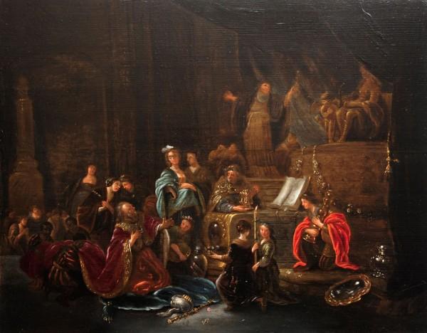 Jakob de Wet, 17. Jahrhundert, Niederlande