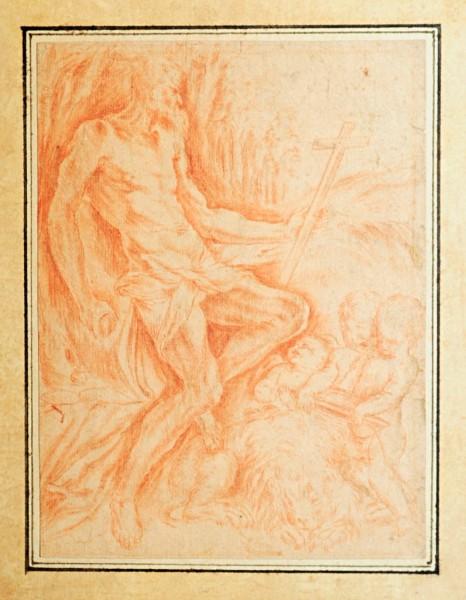 Hieronimus, 17. Jh., Italien