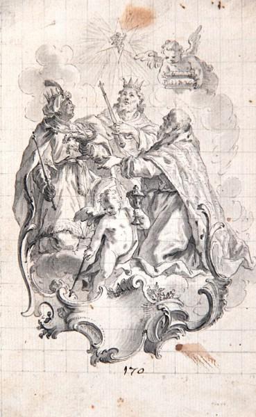 Hl. 3 Könige, Augsburg 18. Jh., (Baumgartner / Sigrist)