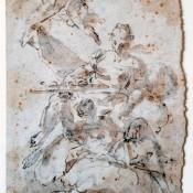 Freskenentwurf, süddeutsch / italienisch, 18. Jh.